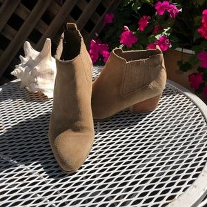 Suede Crown Vintage Booties size 8